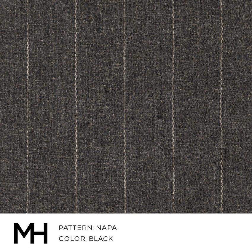 Napa Black Fabric Swatch