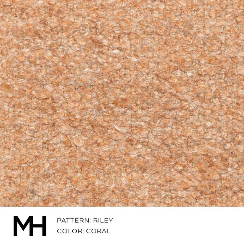 Riley Coral Fabric Swatch