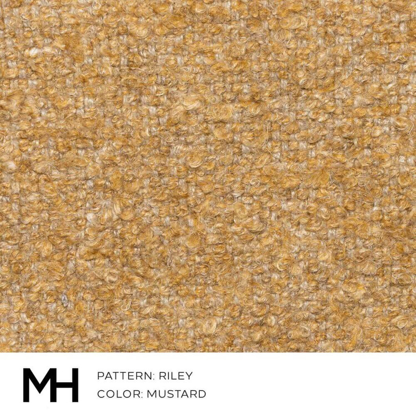 Riley Mustard Fabric Swatch