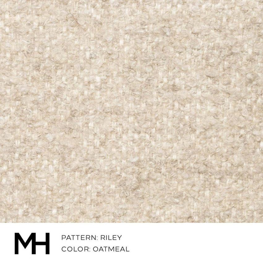 Riley Oatmeal Fabric Swatch