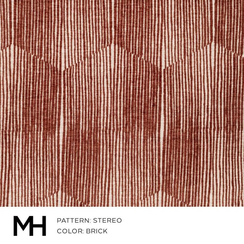 Stereo Brick Fabric Swatch