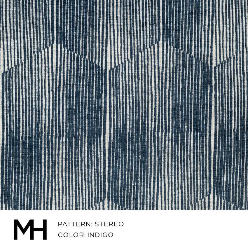 Stereo Indigo Fabric Swatch