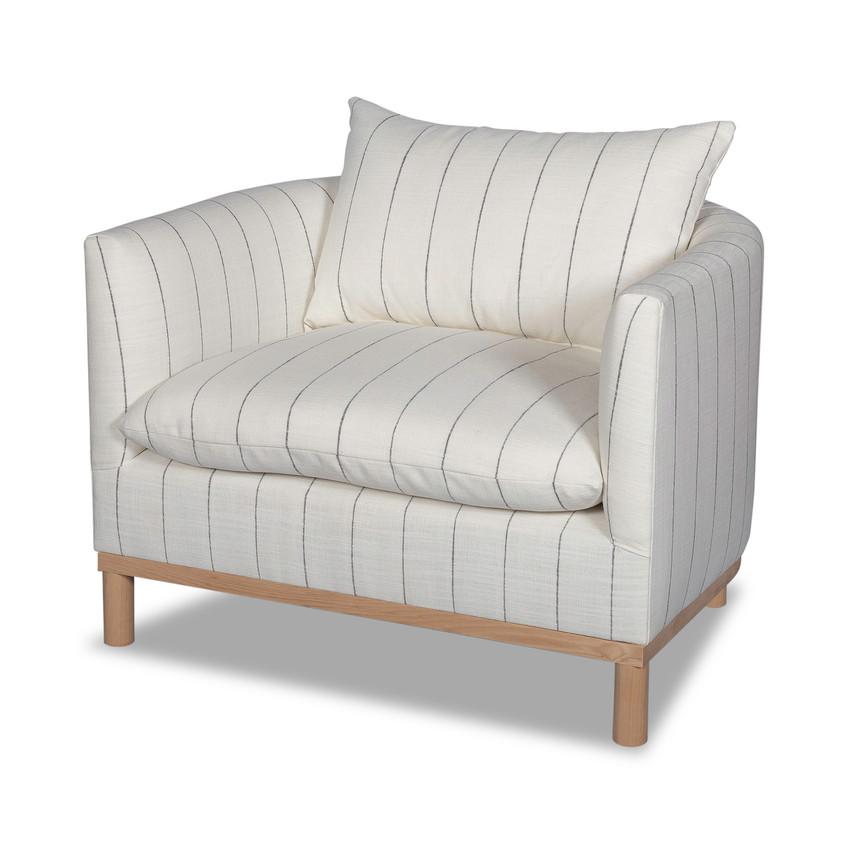 Moss Home Luxury Haus Chair, Moss Studio Haus Chair in Napa White