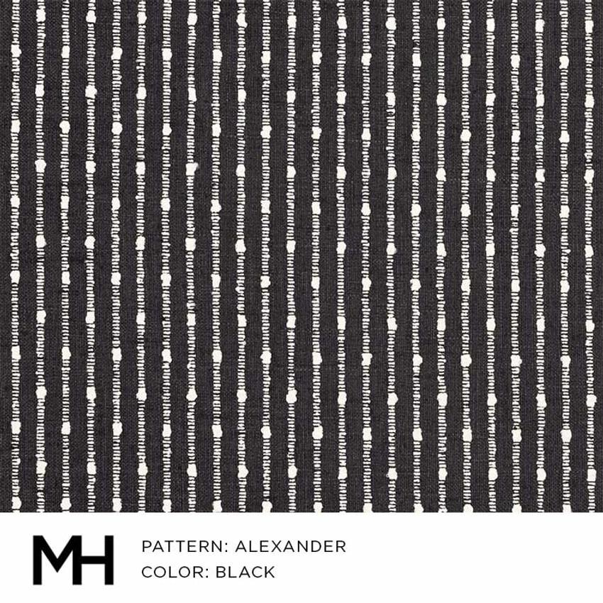 Alexander Black Fabric Swatch