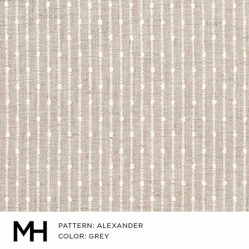 Alexander Grey Fabric Swatch