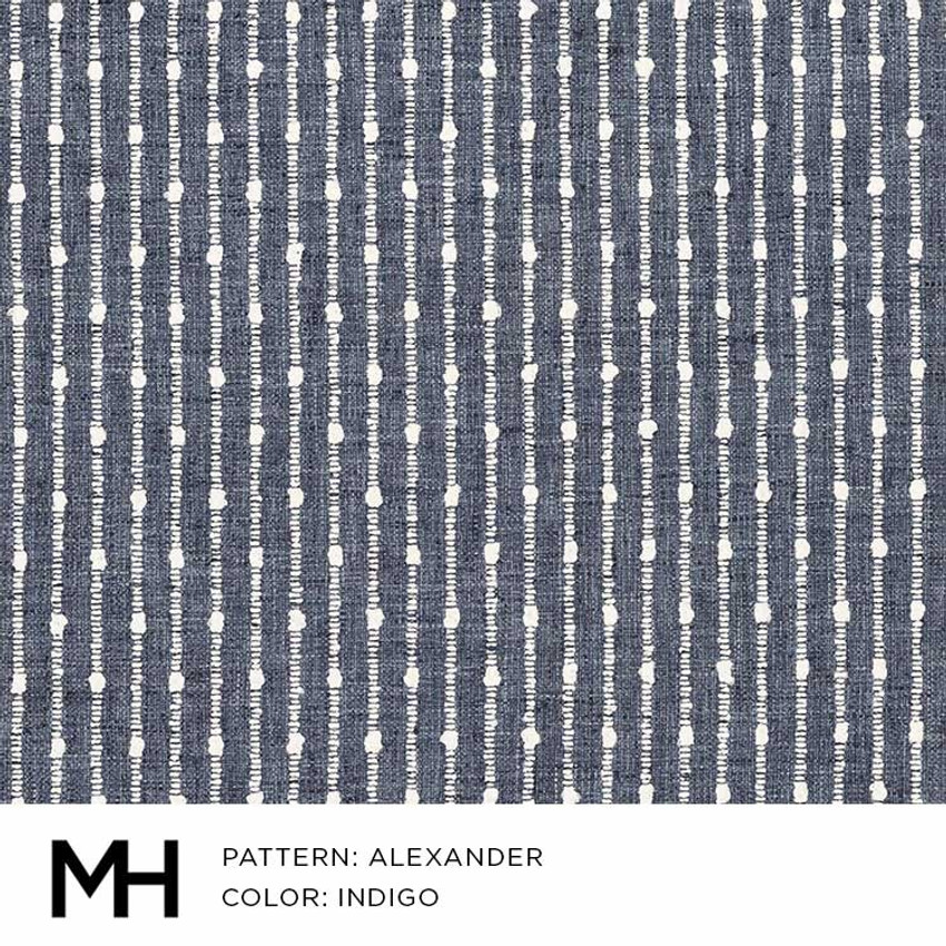 Alexander Indigo Fabric Swatch