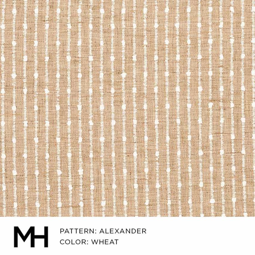 Alexander Wheat Fabric Swatch