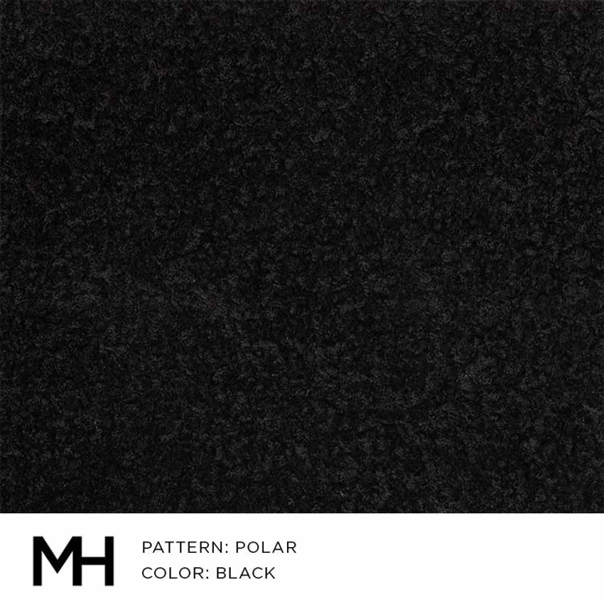 Polar Black Fabric Swatch