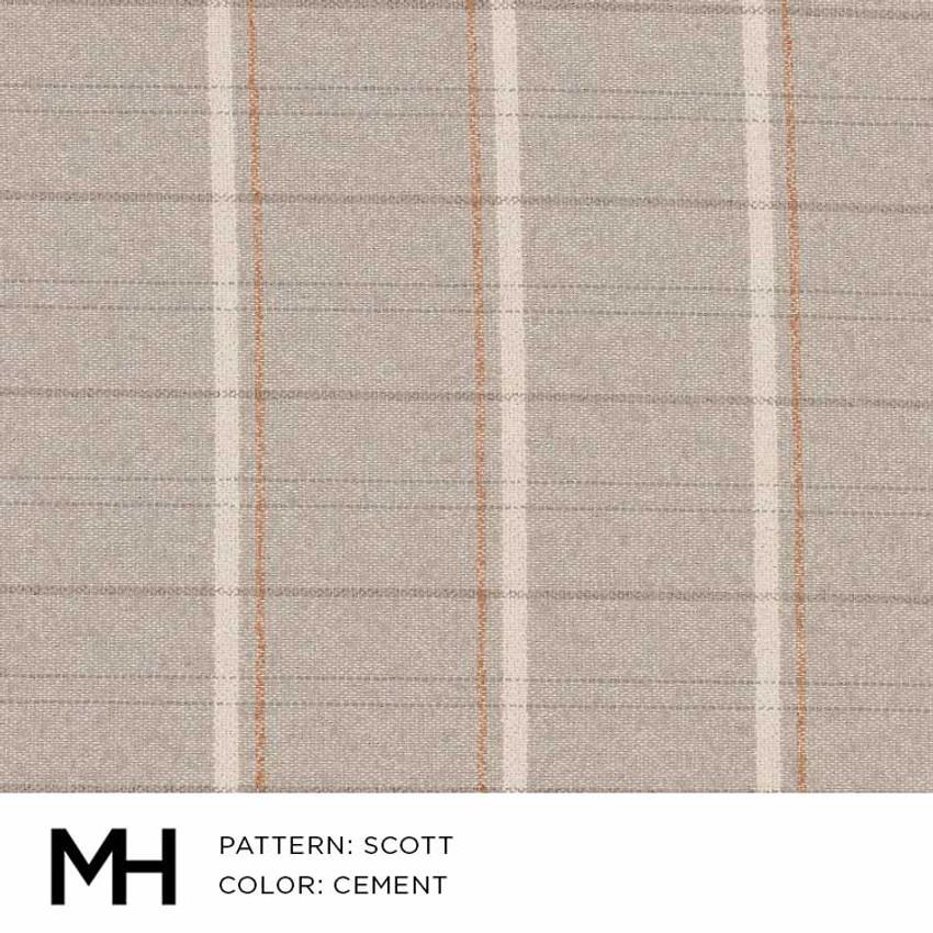 Scott Cement Fabric Swatch