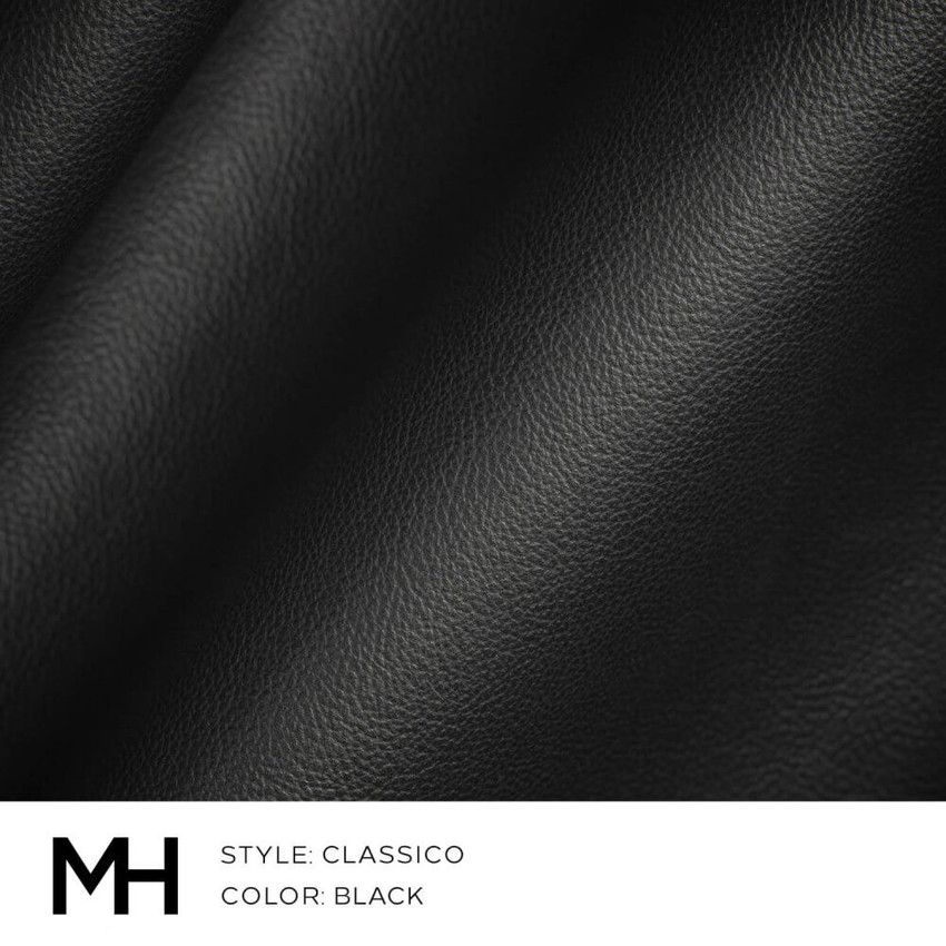 Classico Black Leather Swatch