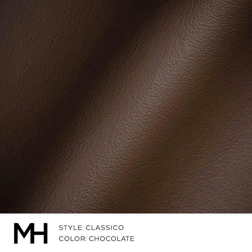 Classico Chocolate Leather Swatch