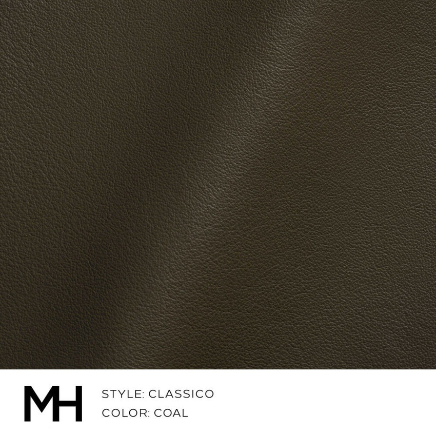 Classico Coal Leather Swatch