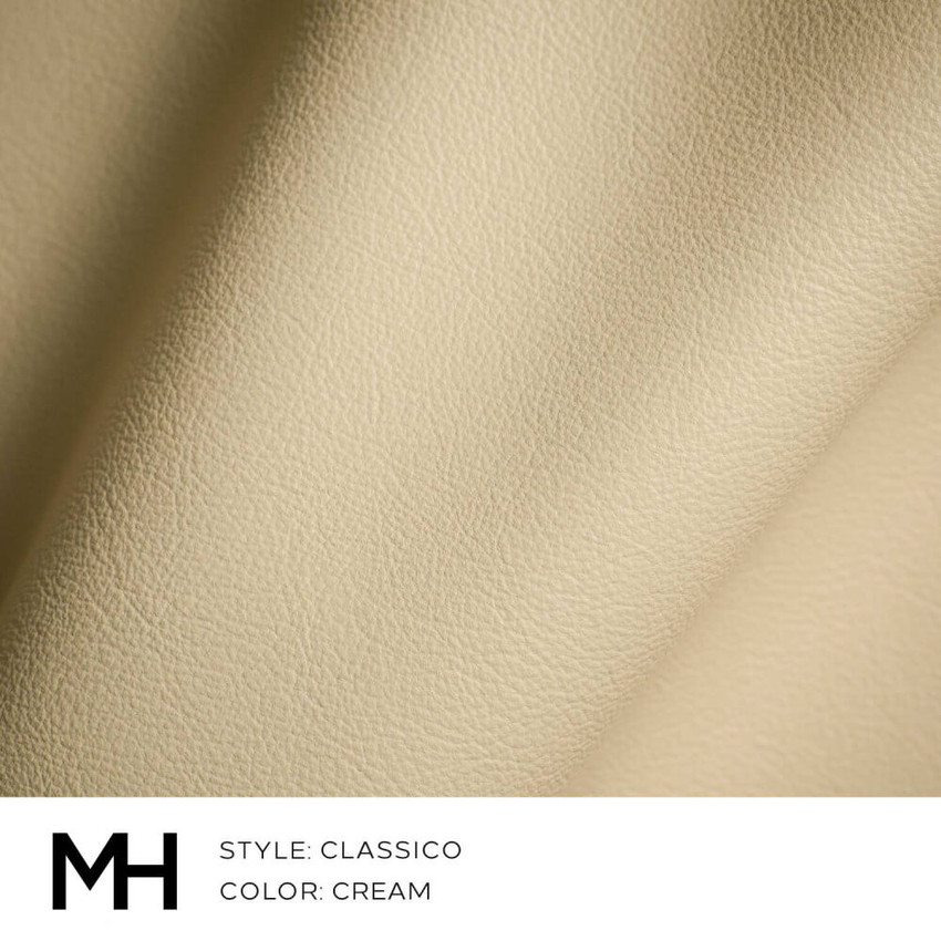 Classico Cream Leather Swatch