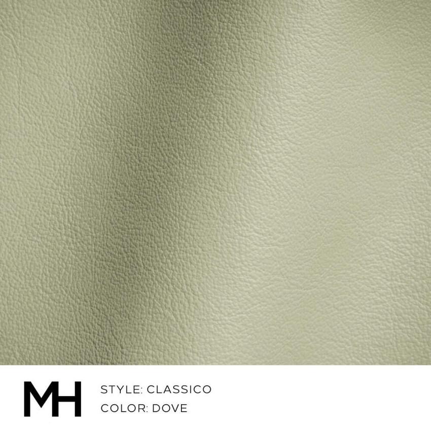 Classico Dove Leather Swatch