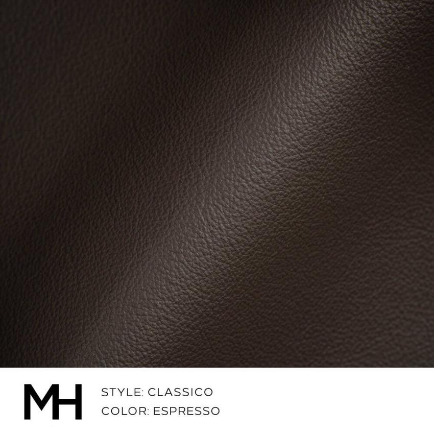 Classico Espresso Leather Swatch