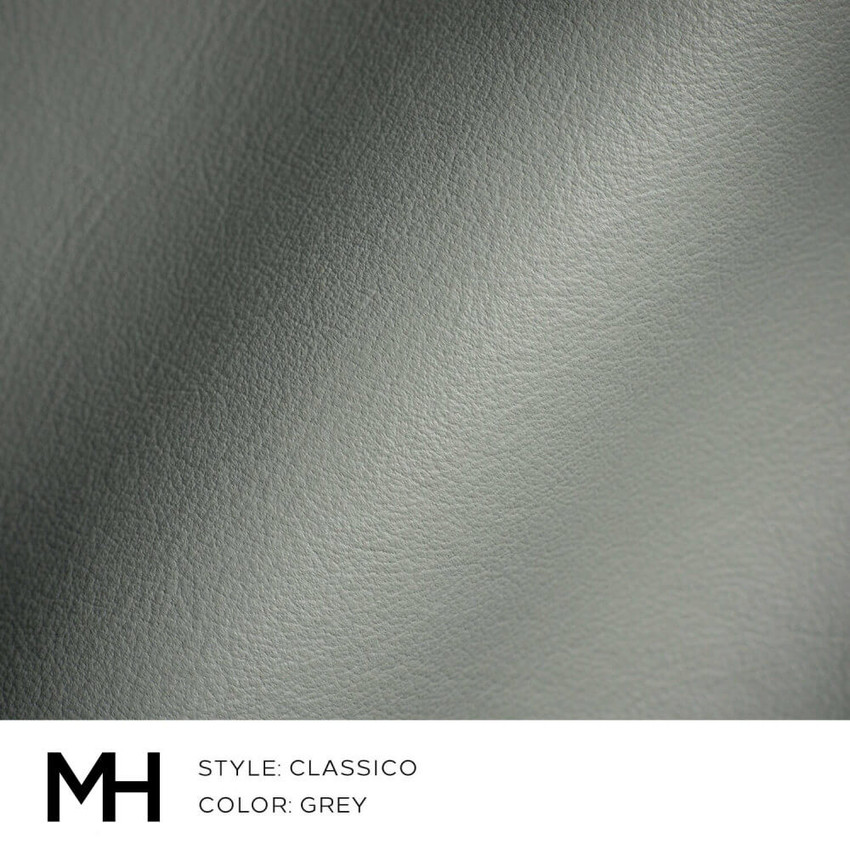 Classico Grey Leather Swatch