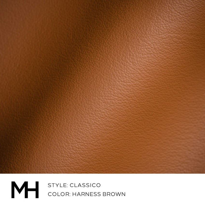 Classico Harness Brown Leather Swatch