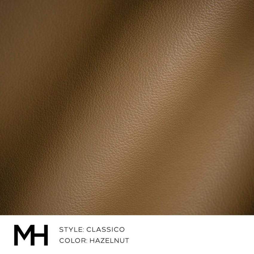 Classico Hazelnut Leather Swatch