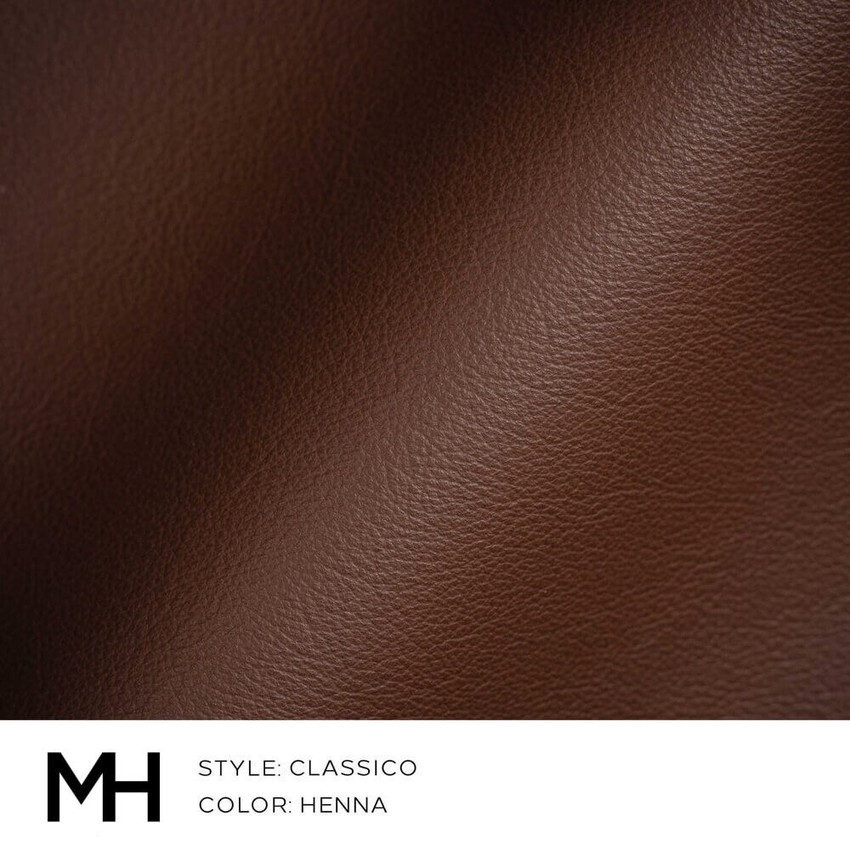 Classico Henna Leather Swatch