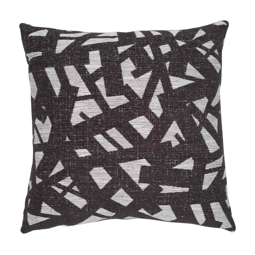 "Moss Home Scribbles 22"" Pillow in Graphite,  22"" throw pillow, accent pillow, decorative pillow"
