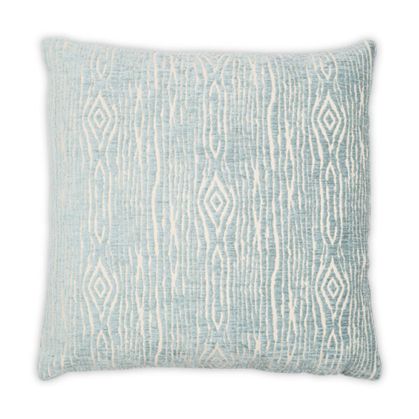 "Moss Home Mythical 22"" Pillow in Aqua,  22"" throw pillow, accent pillow, decorative pillow"
