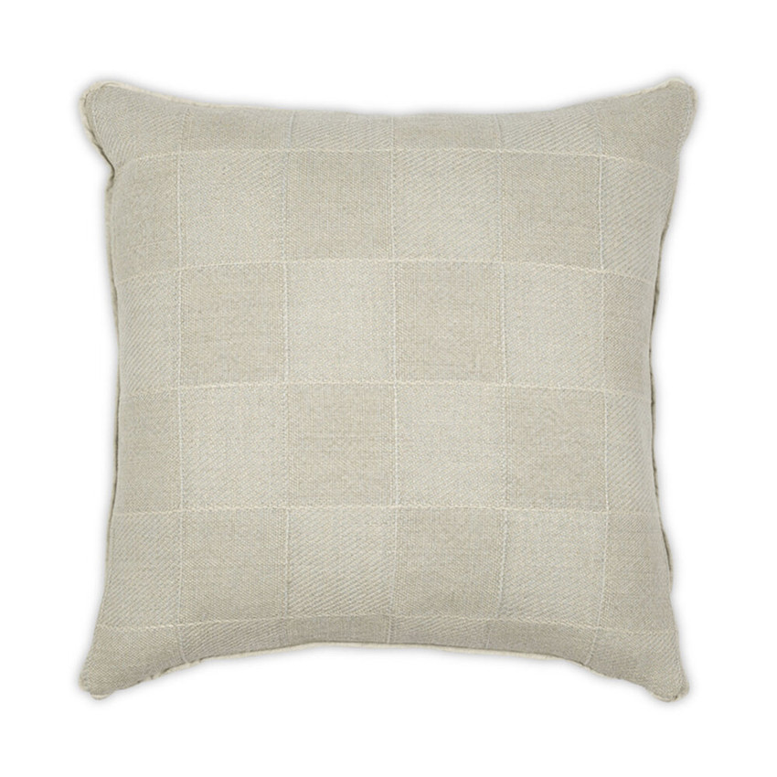 """Moss Home Squared Up 22"""" Pillow in Spa, 22"""" throw pillow, accent pillow, decorative pillow"""