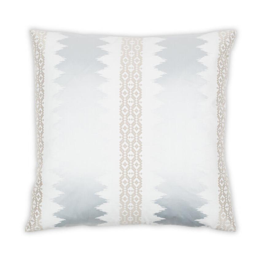 "Moss Home Genevieve 22"" Pillow in Mineral,  22"" throw pillow, accent pillow, decorative pillow"