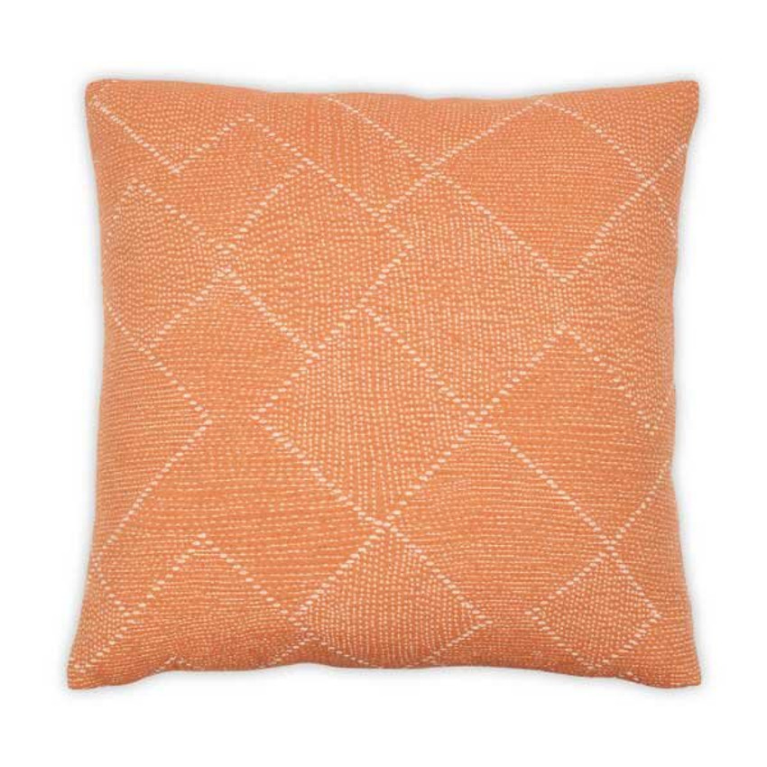 "Moss Home Softy 22"" Pillow in Apricot,  22"" throw pillow, accent pillow, decorative pillow"
