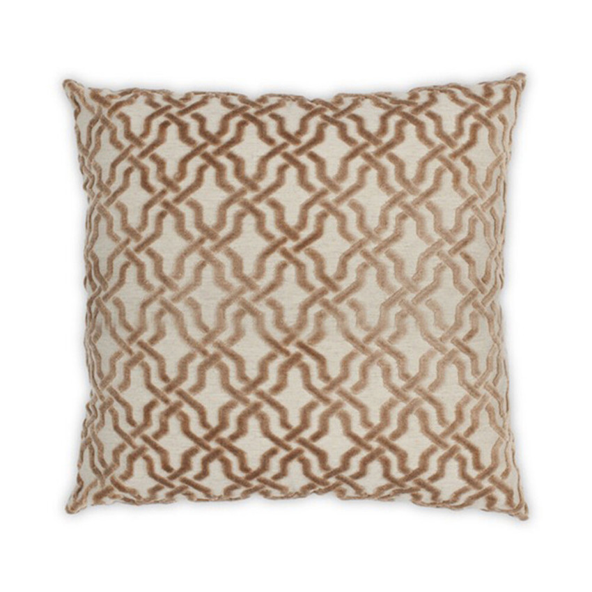 """Moss Home Harmony 22"""" Pillow in Mushroom,  22"""" throw pillow, accent pillow, decorative pillow"""