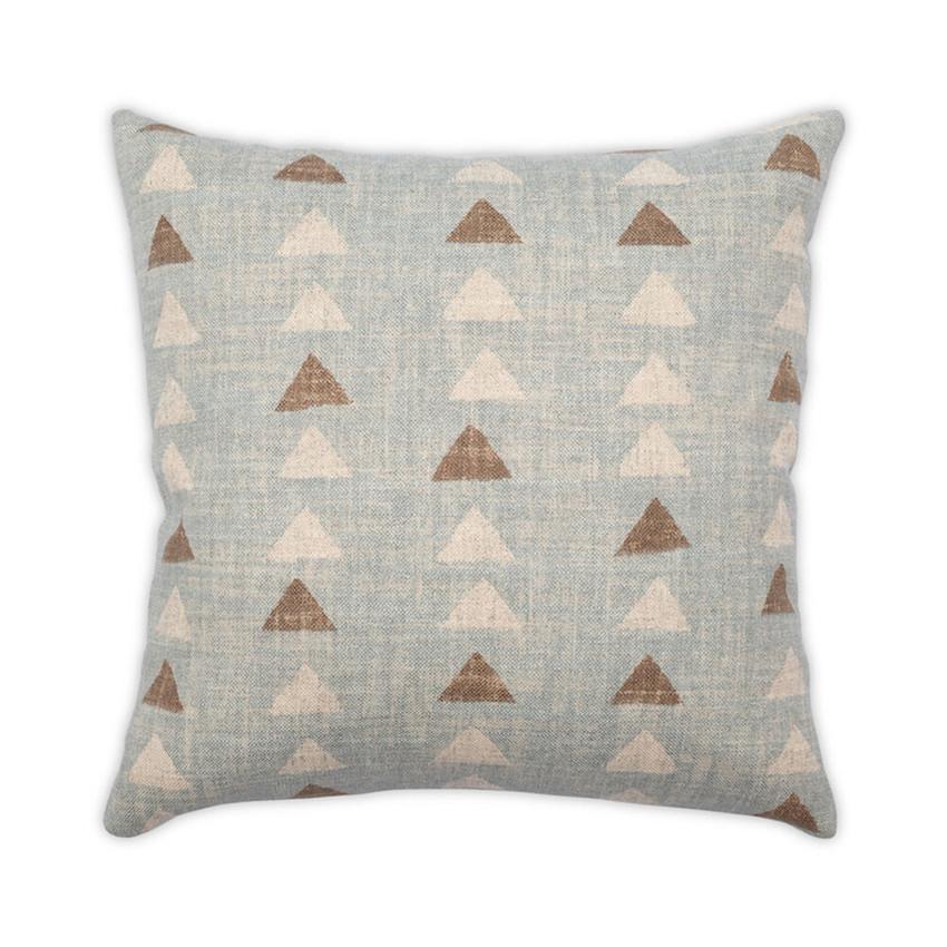 Moss Home Darts Pillow,  trend throw pillow, accent pillow, darts throw pillow in seaglass