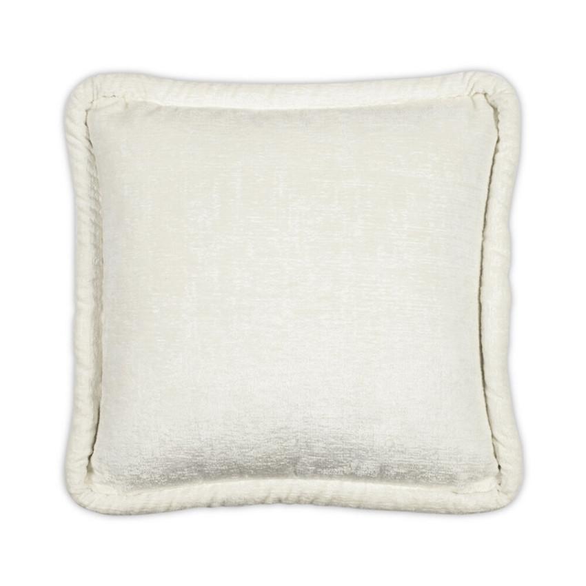 Moss Home Donatella Chunky Pillow,  throw pillow, accent pillow, donatella chunky throw pillow in snow