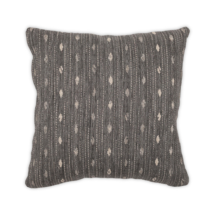 Moss Home Drip Pillow,  trend throw pillow, accent pillow, Drip throw pillow in charcoal