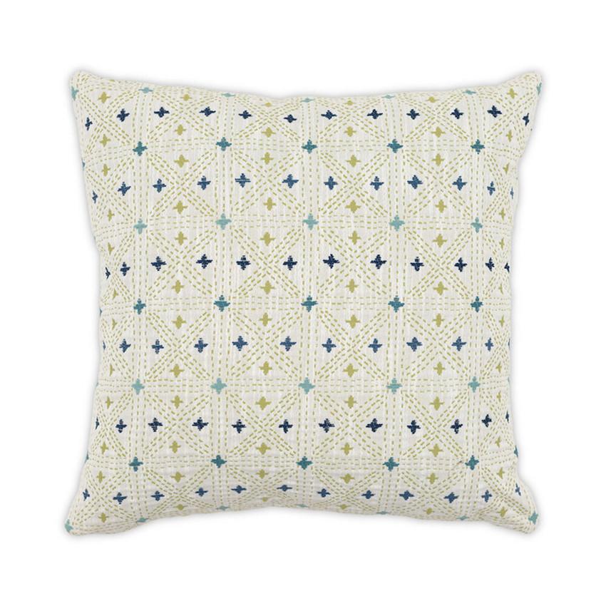 Moss Home Holi Pillow,  trend throw pillow, accent pillow, holi throw pillow in verdant