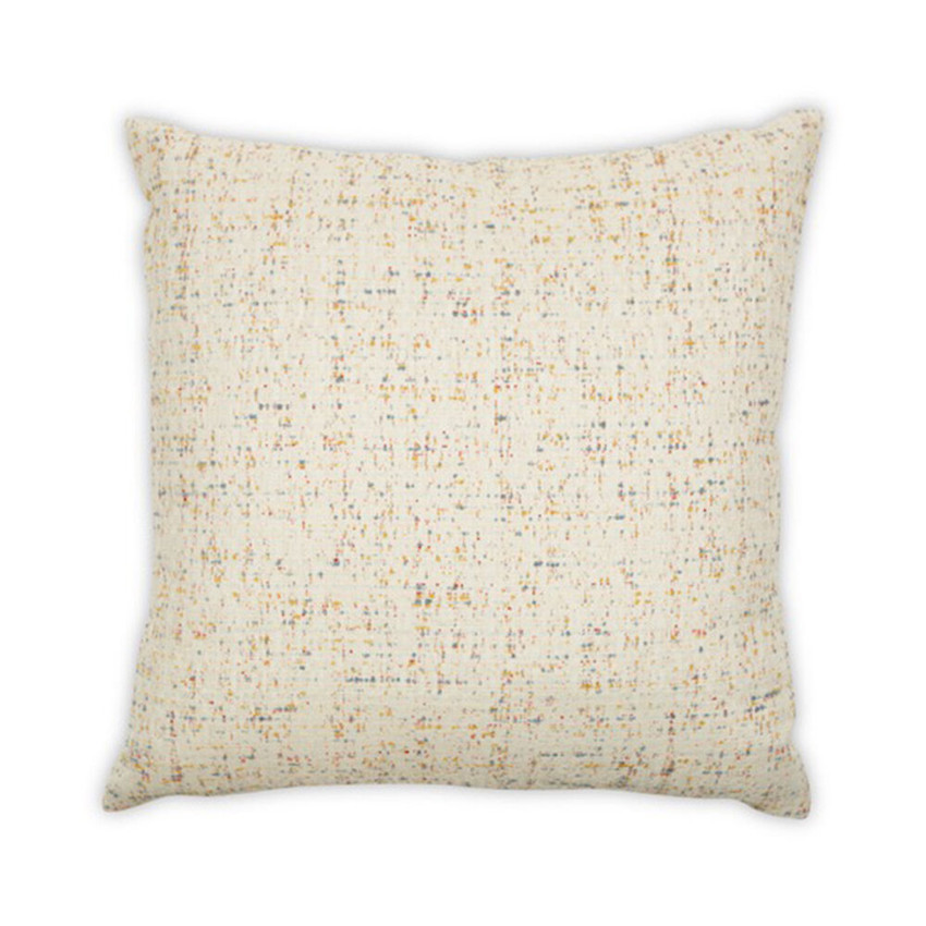 Moss Home Homespun Pillow,  essential throw pillow, accent pillow, homespun throw pillow in fiesta