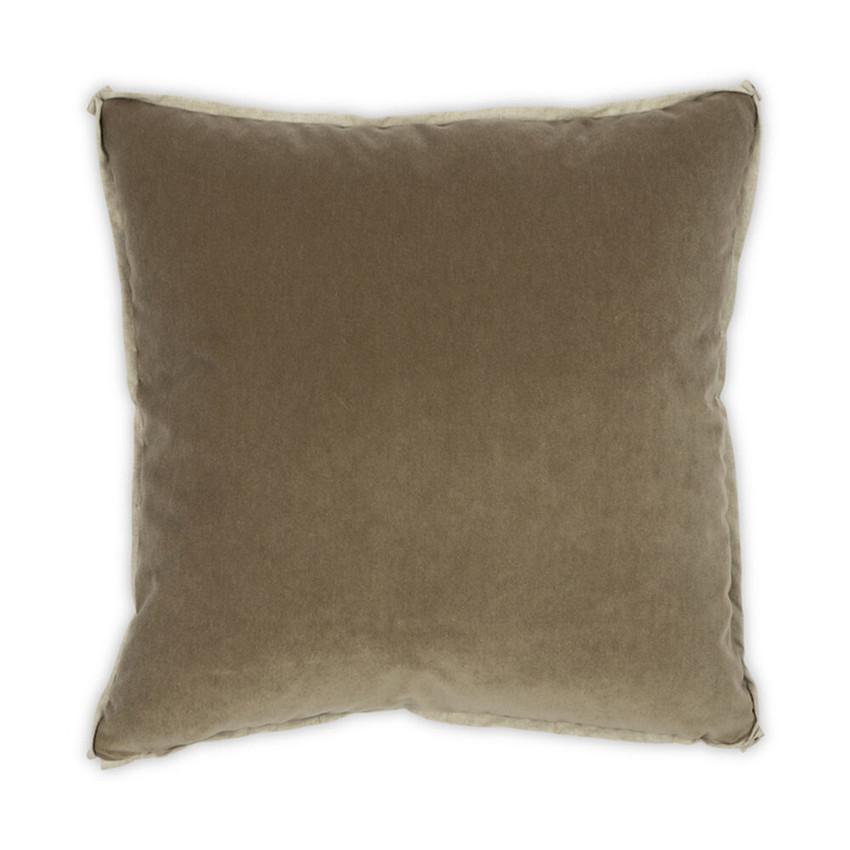 Moss Home Banks Pillow in Balsam, velvet throw pillow, accent pillow, decorative pillow