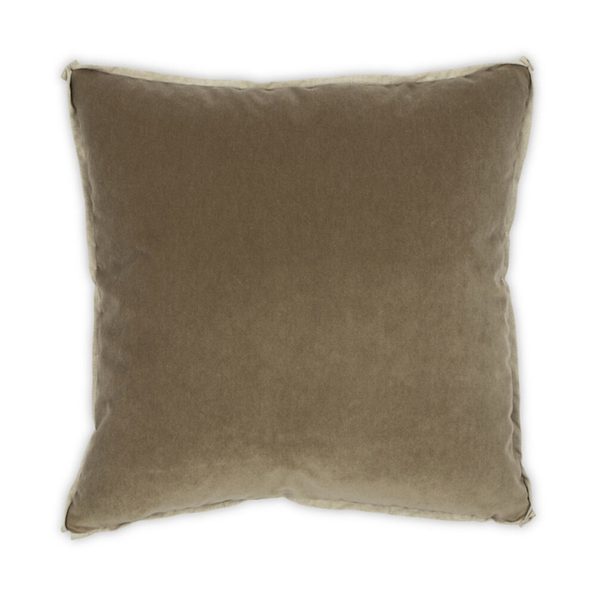 Moss Home Banks Pillow in Balsam, velvet throw pillow, accent pillow, decorative pillow