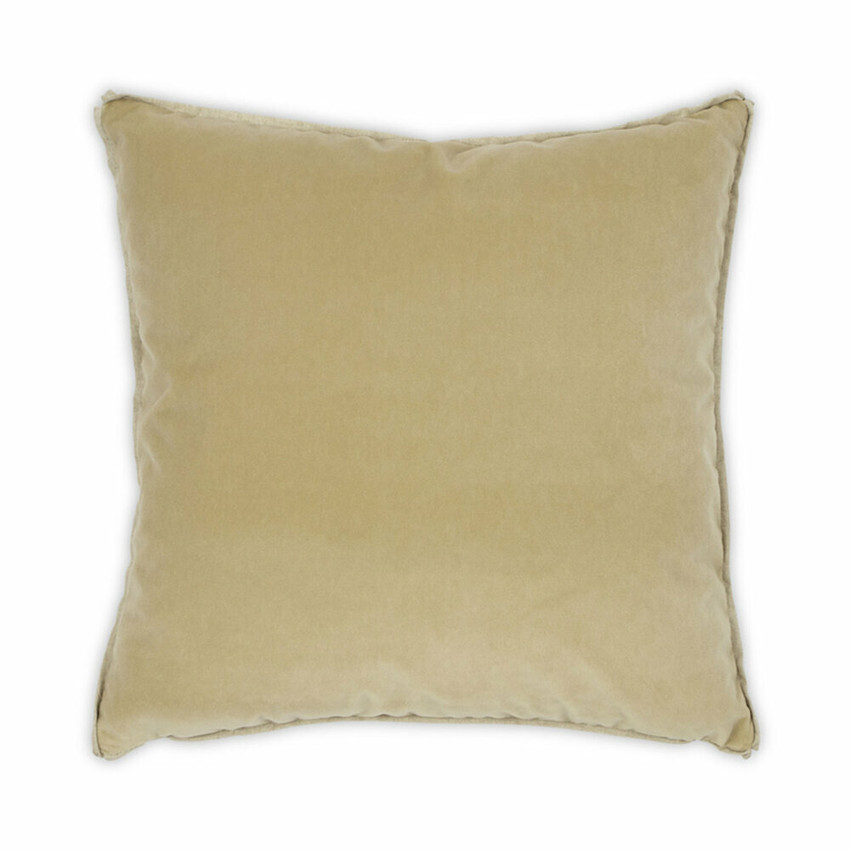 Moss Home Banks Pillow in Brie, velvet throw pillow, accent pillow, decorative pillow