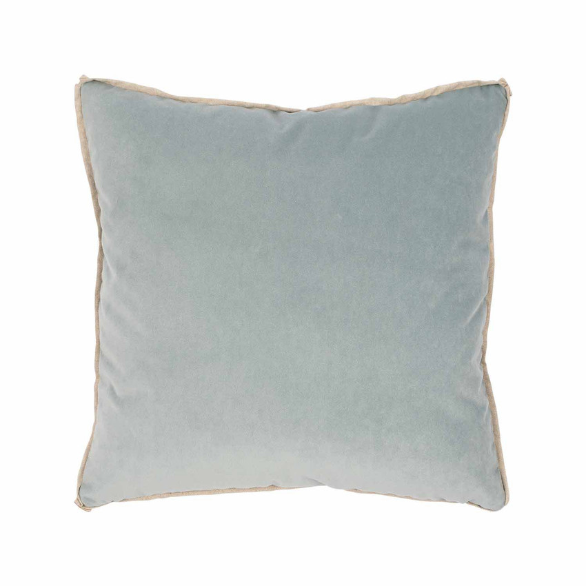 Moss Home Banks Pillow in Heron, velvet throw pillow, accent pillow, decorative pillow