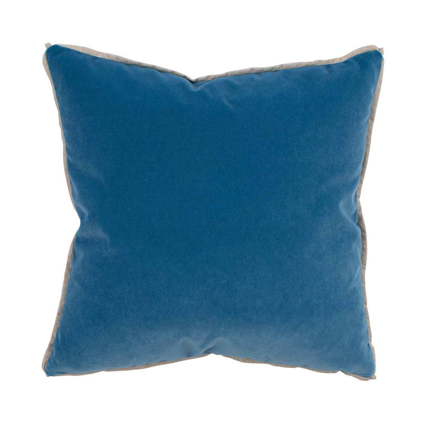 Moss Home Banks Pillow in Parrot, velvet throw pillow, accent pillow, decorative pillow