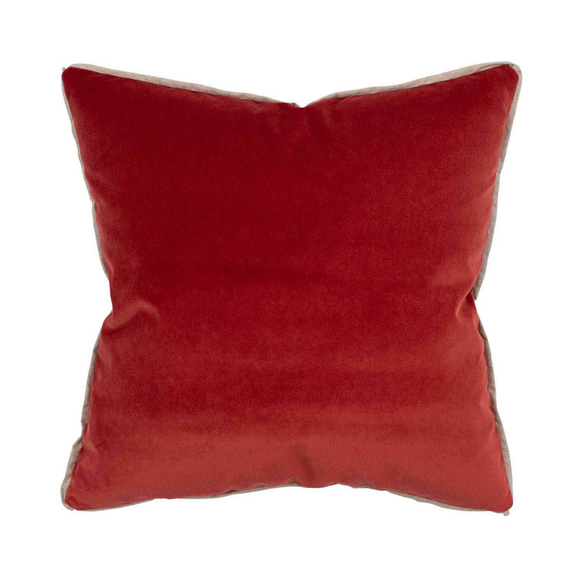 Moss Home Banks Pillow in Pompeii, velvet throw pillow, accent pillow, decorative pillow