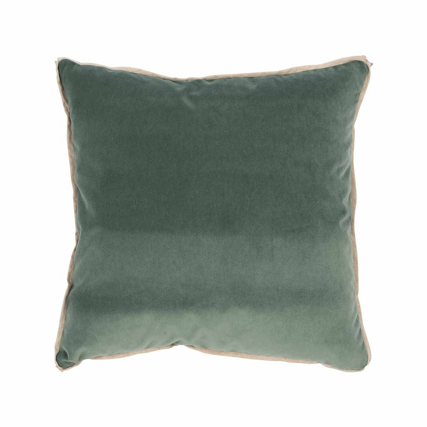 Moss Home Banks Pillow in Pool, velvet throw pillow, accent pillow, decorative pillow