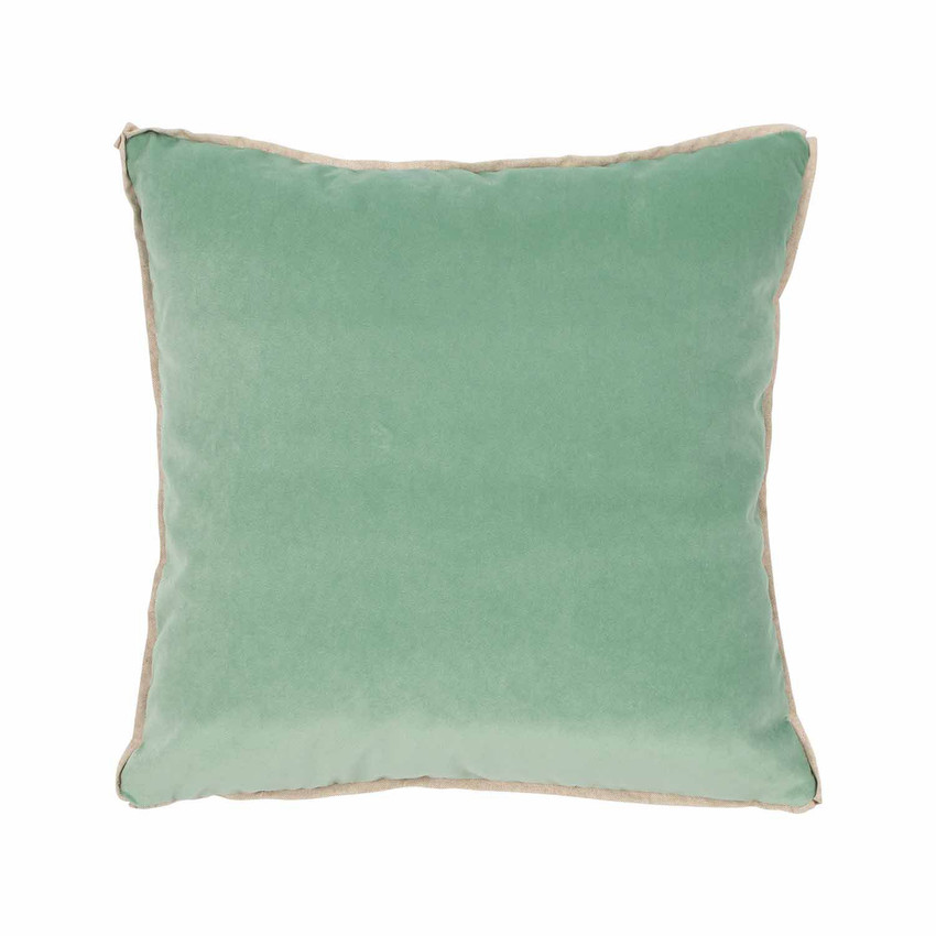 Moss Home Banks Pillow in Sorbet, velvet throw pillow, accent pillow, decorative pillow