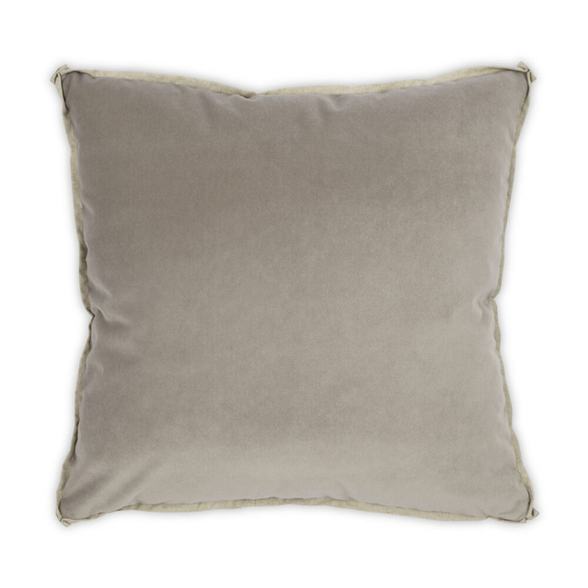 Moss Home Banks Pillow in Vicuna, velvet throw pillow, accent pillow, decorative pillow