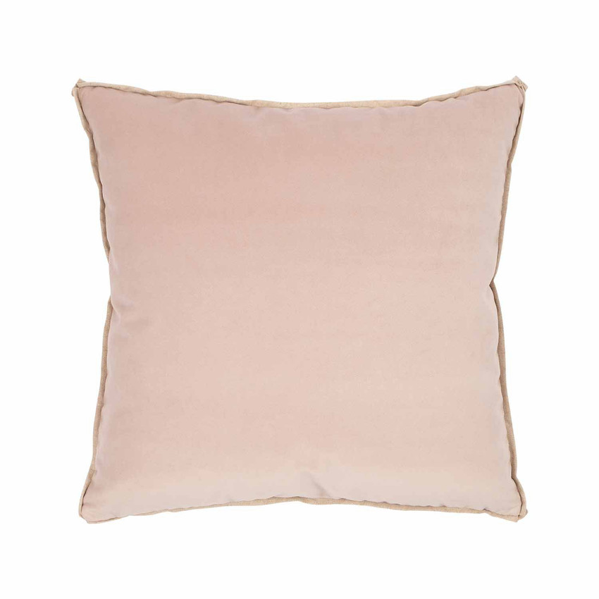 Moss Home Banks Pillow in Woodrose, velvet throw pillow, accent pillow, decorative pillow
