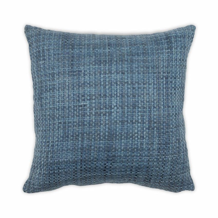 Moss Home Lofty Pillow, trend throw pillow, accent pillow, decorative pillow,  lofty trend pillow in denim