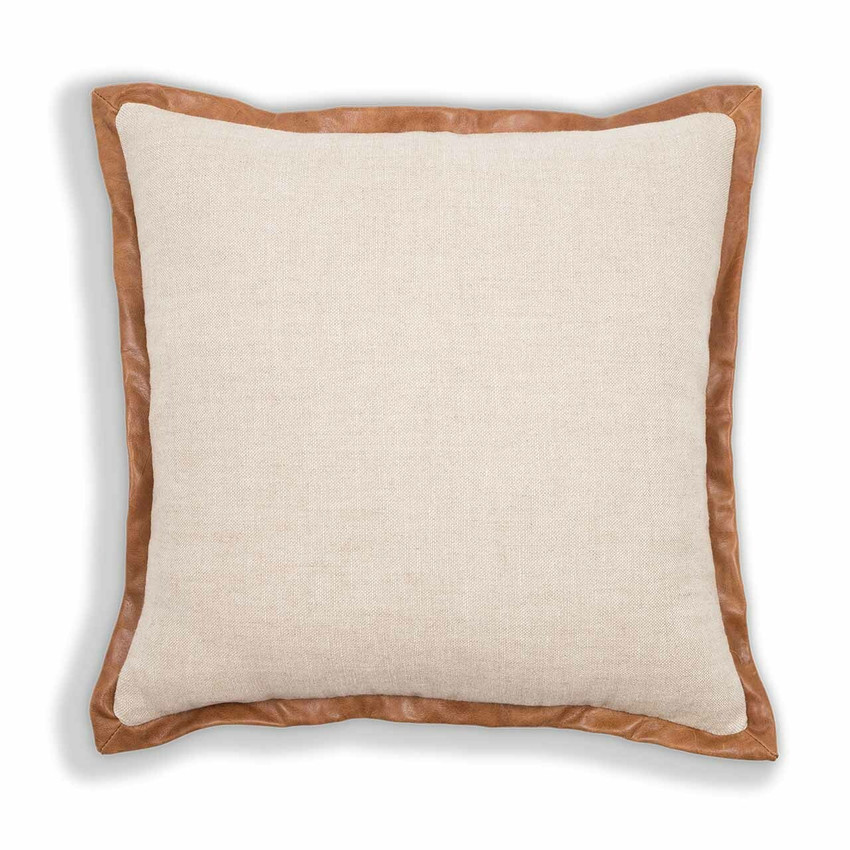 Moss Home Madison Pillow, trend throw pillow, accent pillow, decorative pillow,  madison trend pillow in saddle