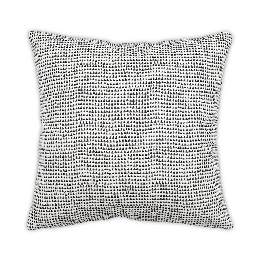 Moss Home North Pillow, trend throw pillow, accent pillow, decorative pillow, north pillow in black