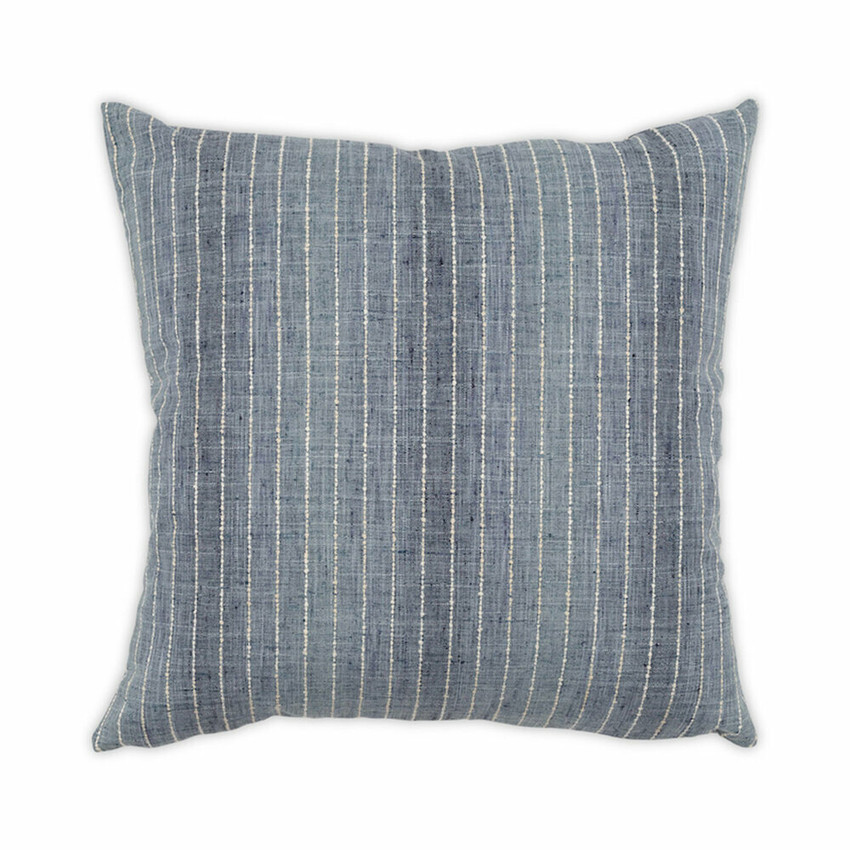 Moss Home Suited Pillow,  throw pillow, accent pillow, suited throw pillow in denim