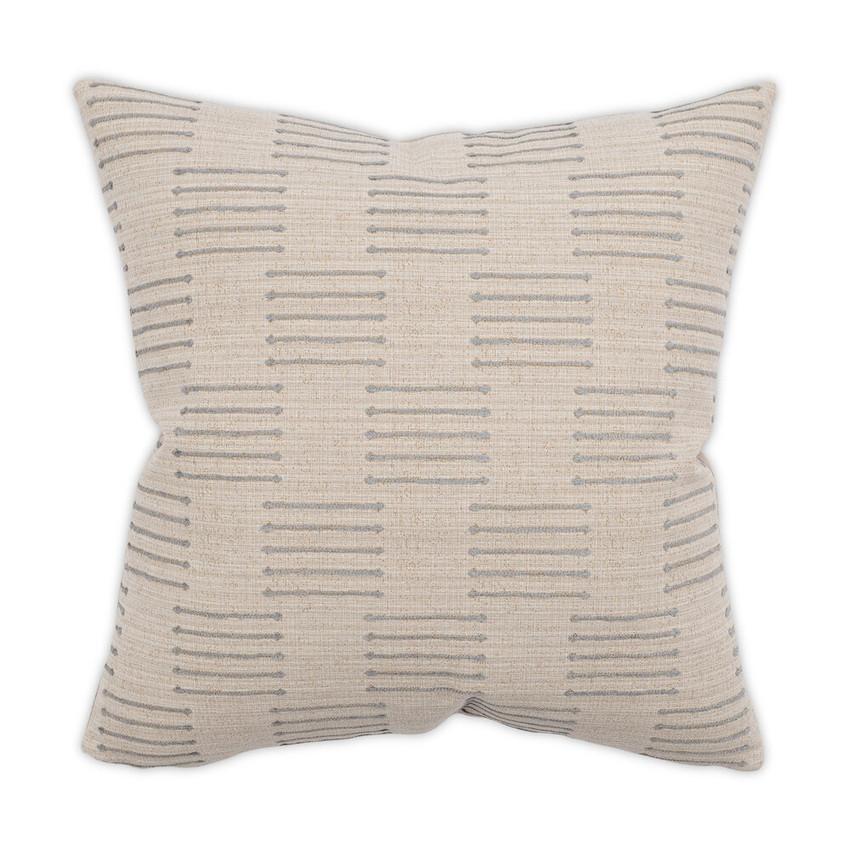 Moss Home Bonez Pillow,  trend throw pillow, accent pillow, bonez throw pillow in aluminum