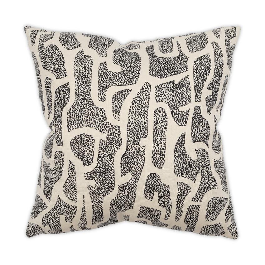 Moss Home Gracie Pillow,  trend throw pillow, accent pillow, Gracie throw pillow in black